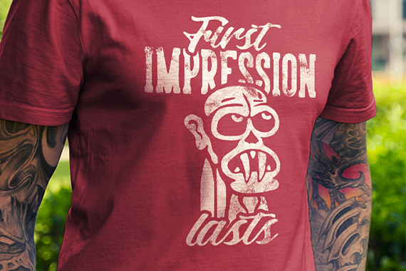 First impression lasts -