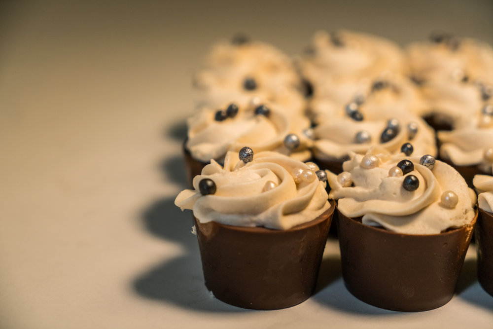 Milk Chocolate Mousse Cups