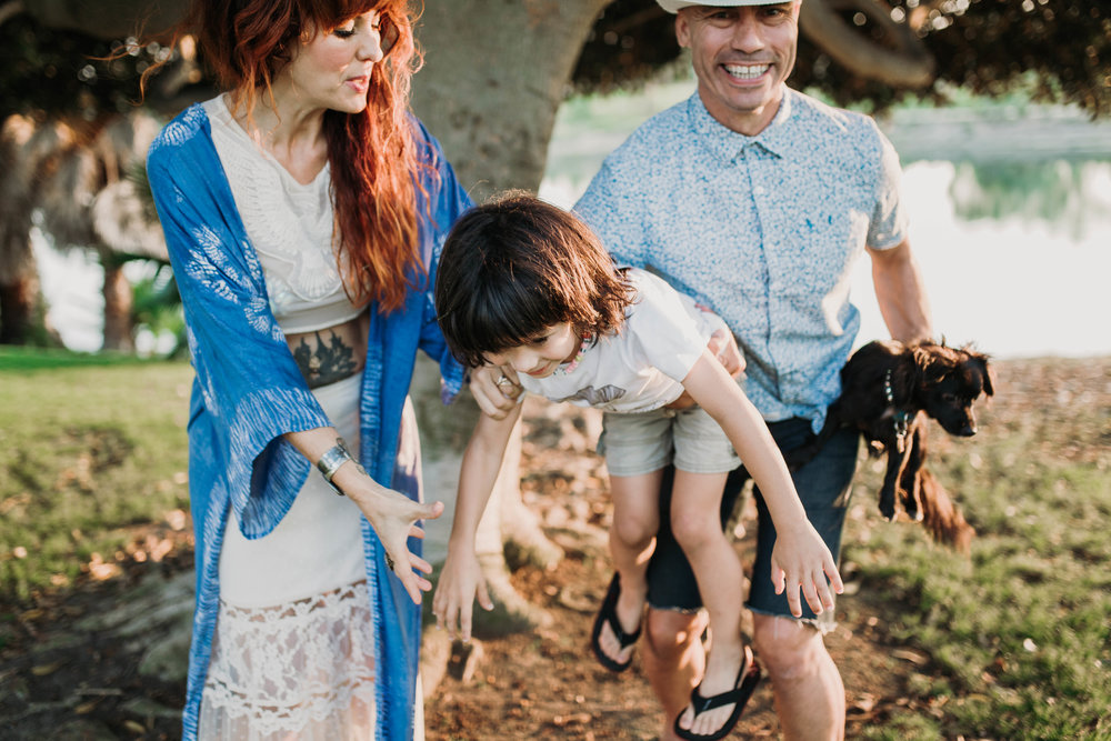 Armando, RaYa, Luna and me~ #theharts PHOTO: HeatherBejar.com