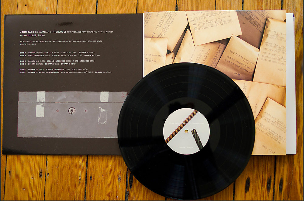 John Cage Sonatas and Interludes 3 lp box set