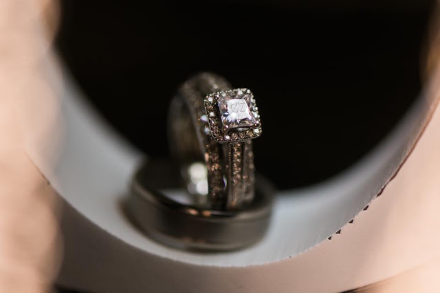Fake Diamond Ring with CZ etched into stone for Cubic Zirconia