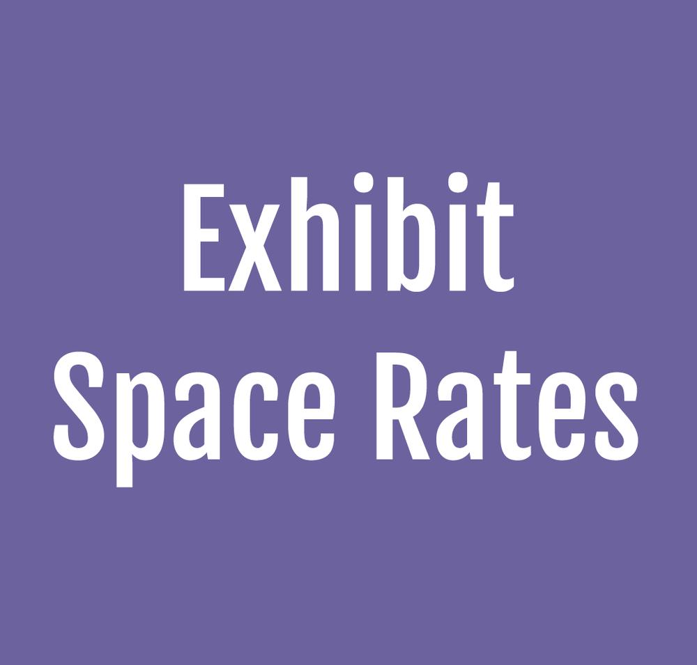 Exhibit Space Rates