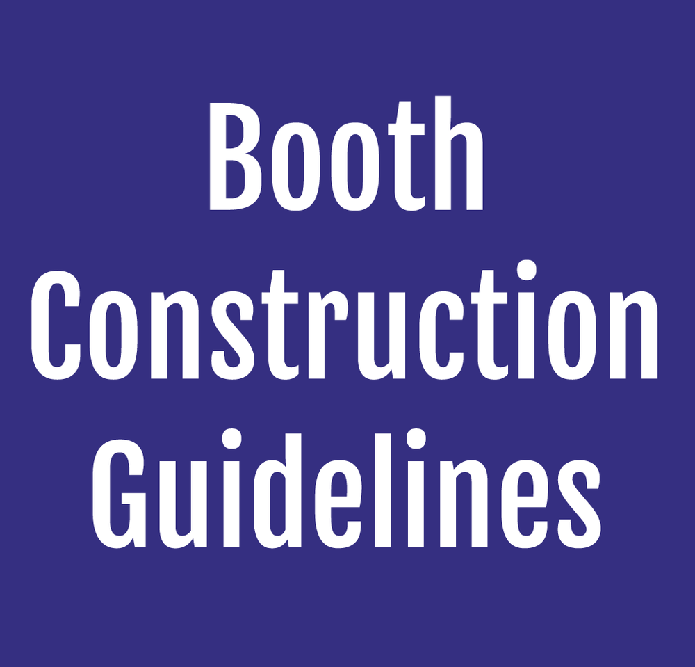 Booth Construction Guidelines