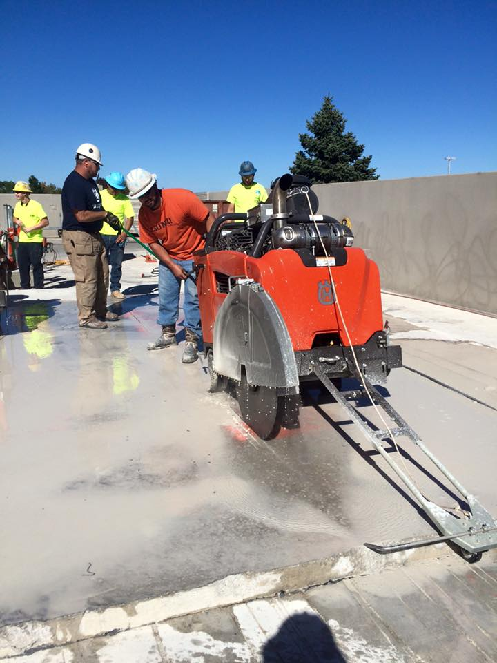CONCRETE SAW CUTTING -