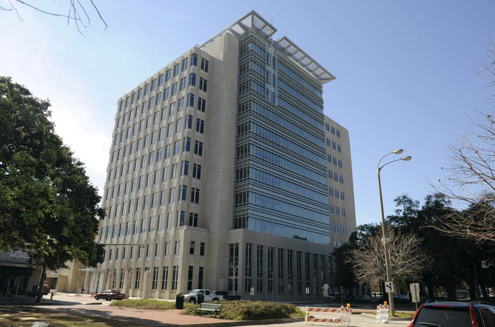 The 19th Judicial District Courthouse is located on North Blvd. in downtown Baton Rouge.