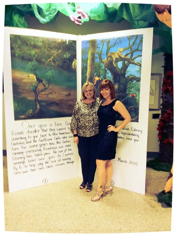 Missy Moon Burchart & Sydney Stone, Founders of the Girlfriend Gala  Not Pictured: Karen Owen, Former Director United Way of Etowah County