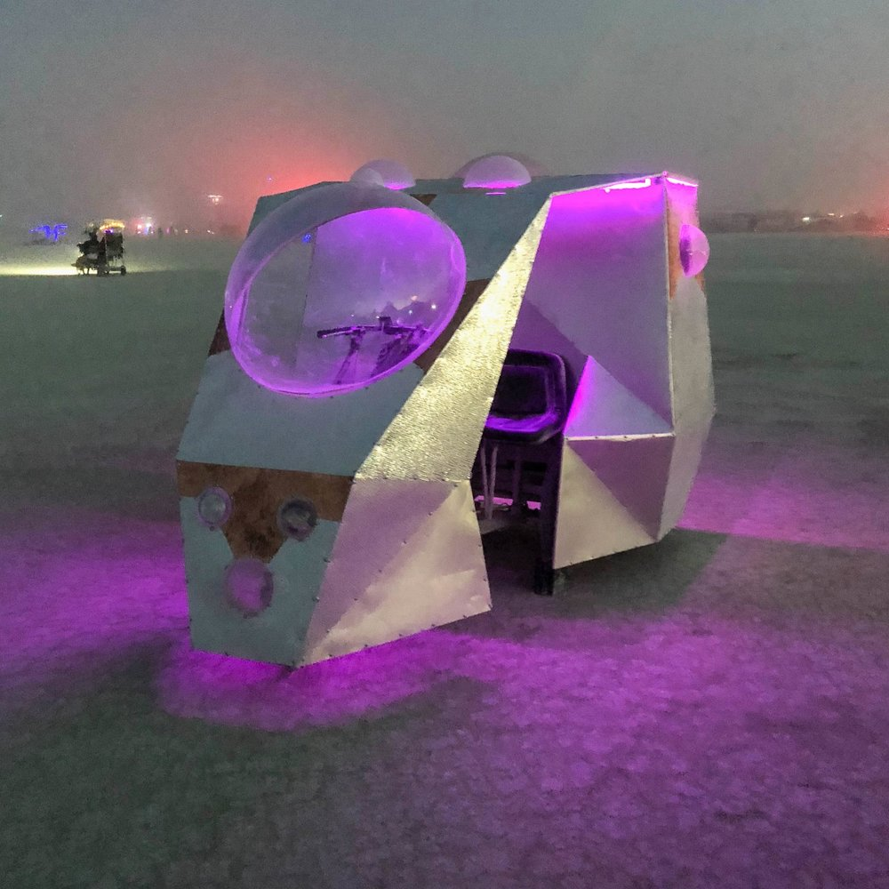 ModPod - Art Car - Burning Man 2018