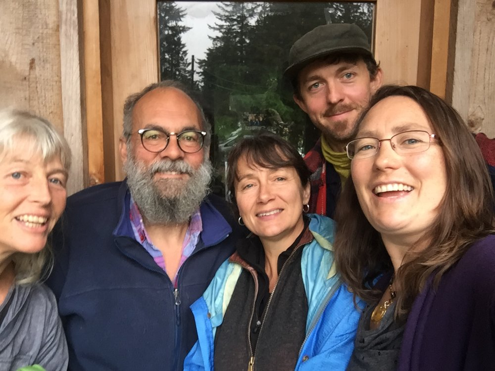 Photo left to right: Sonya Friesen, Don Tennant, Kate Maddigan, Max Thaysen & me.