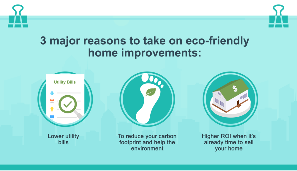 Make Your Home More Energy-Efficient With These Green Home Improvements