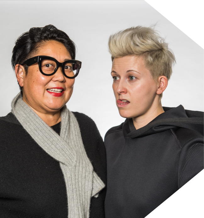 Noreen Morioka + Nicole Jacek - Head of Design Wieden + Kennedy
