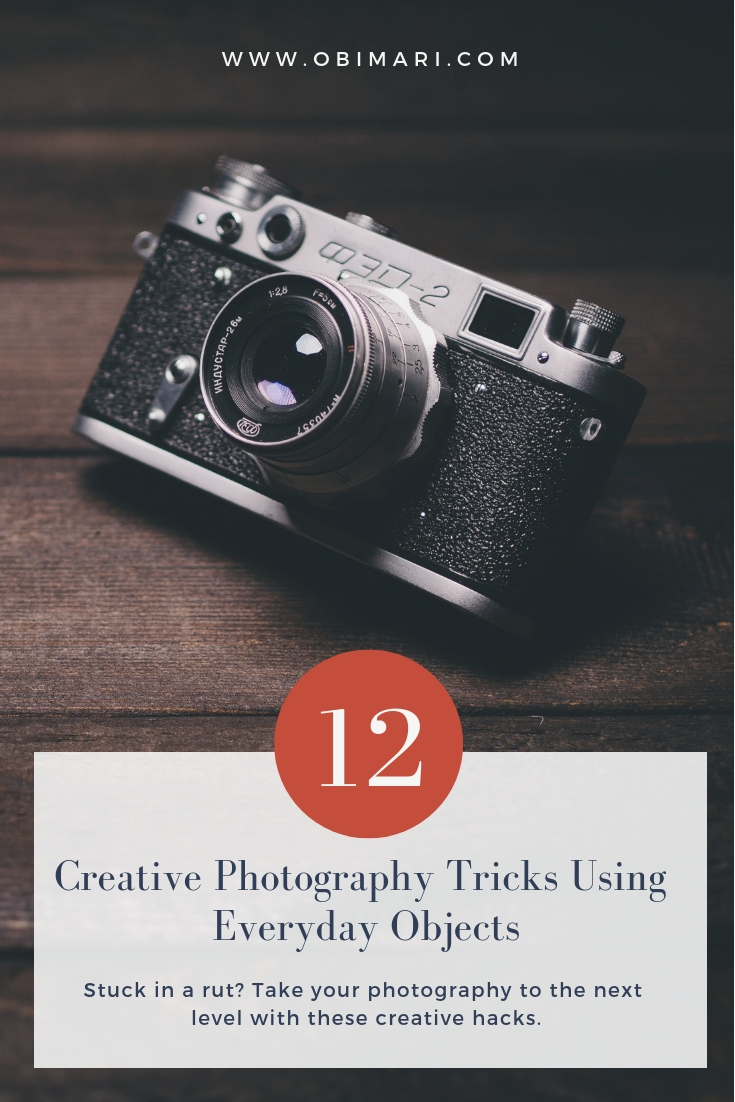 Photo Hacks With Everyday Objects Using >> 12 Creative Photography Tricks Using Everyday Objects Mari Obi