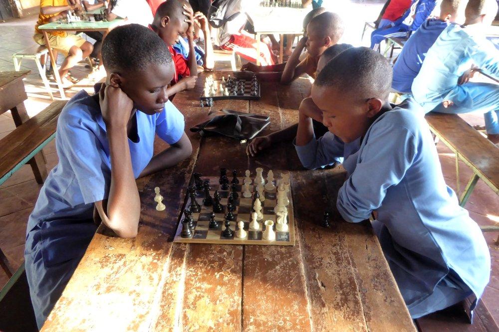 Teach Chess in Africa -