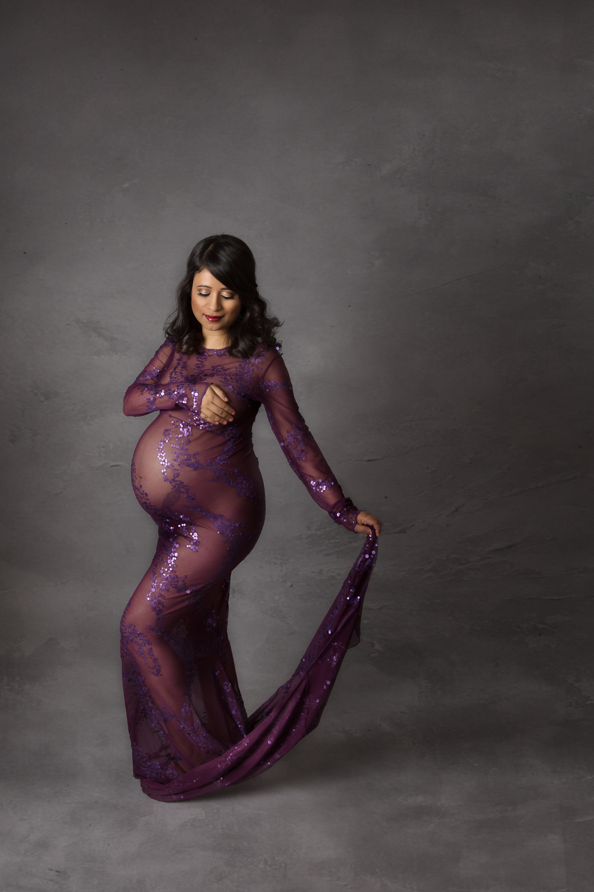 nyc maternity photoshoot instudio purple royal implied nude-5809.jpg