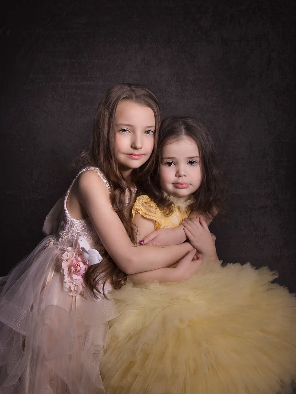 nyc family photoshoot instudio princess gowns sisters-2388.jpg