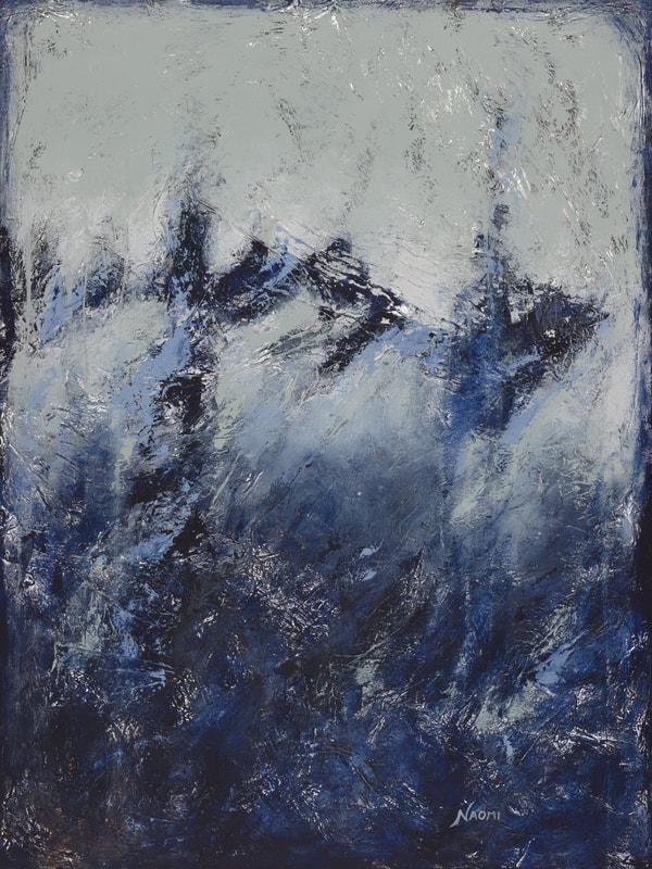 "Choices #6, 48"" x 36"" Original, Acrylic & Mixed Media on Canvas"