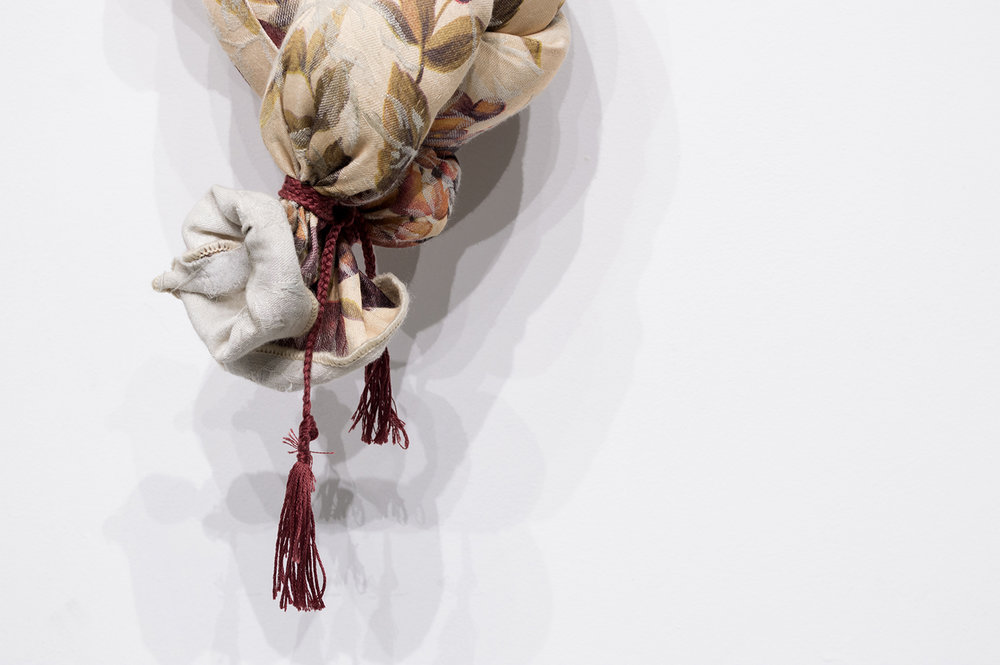 Knots I (Detail), 2018, Soft Sculpture, 60 x 12 x 6 inches, $300