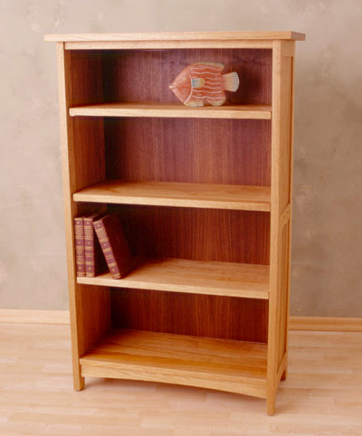 Cherry Bookcase - Natural Oil Finish13