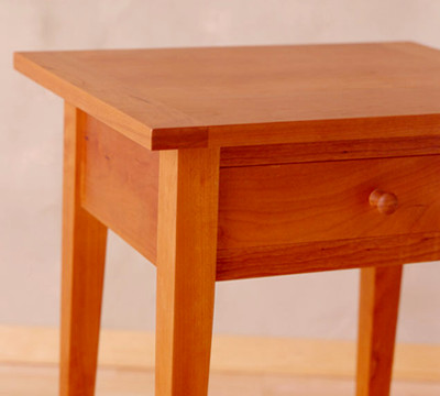 Cherry Nightstand - One DrawerNatural Oil Finish16