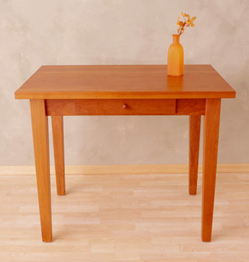Cherry Writing Table - One DrawerNatural Oil Finish24