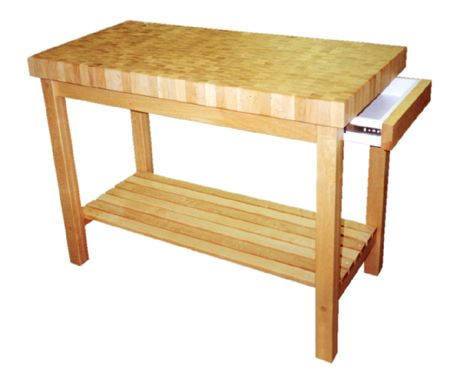 Maple Kitchen Work Table - 3