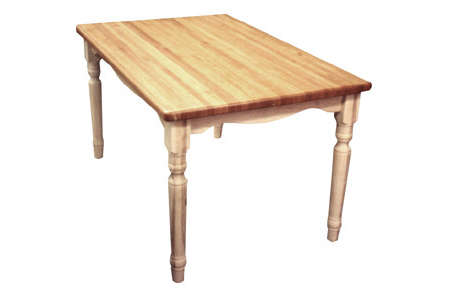 Maple Butcher Block Table - 1.5