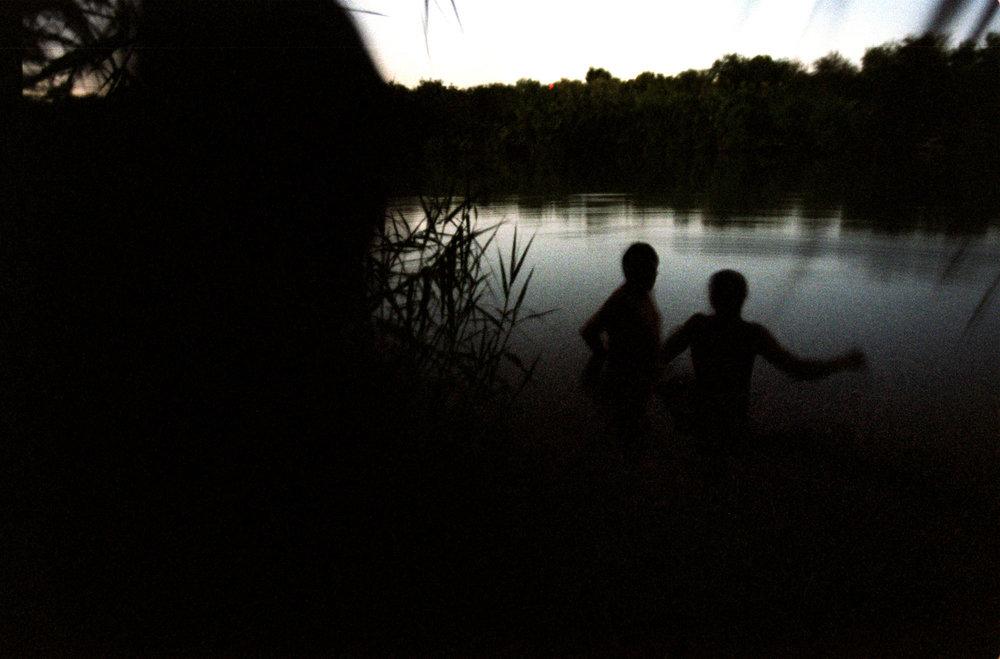 Into the Rio Grande