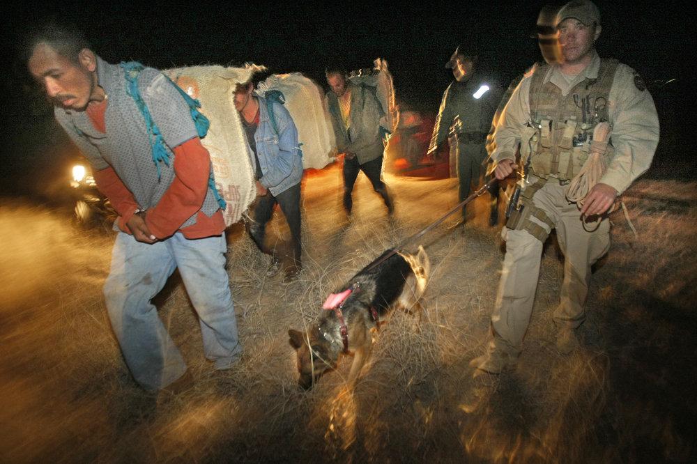 Captured Drug Mules