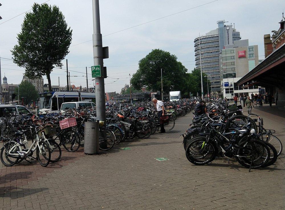 Commuting in Amsterdam