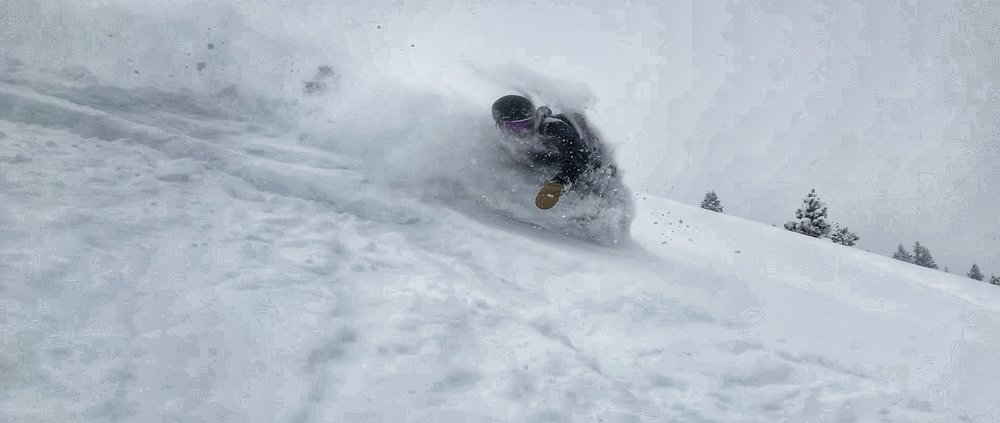 Everyone loves riding backcountry powder.