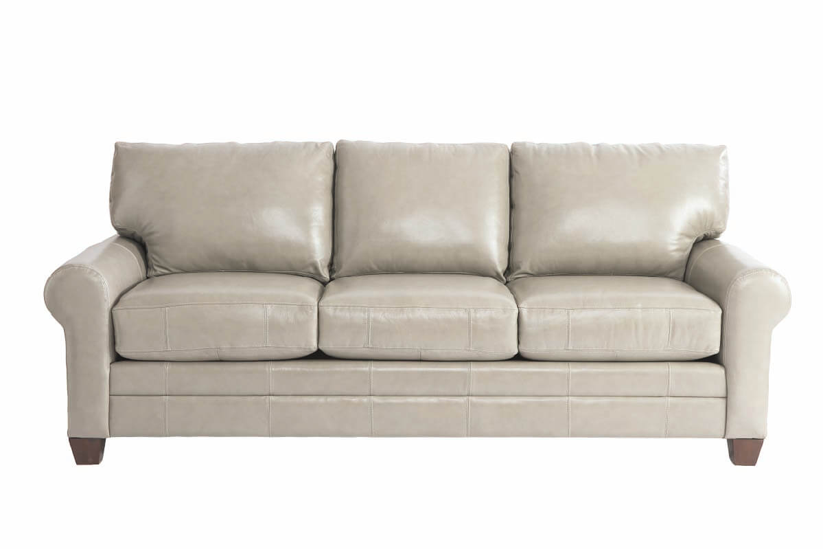 Leather Grey Sofa