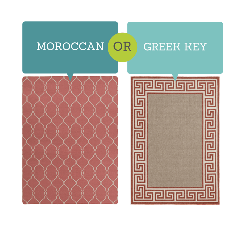Moroccan or Greek Key