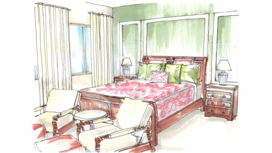 ktj-design-co-bedroom-sketch