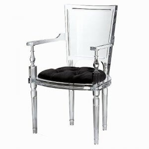 kathleen-jennison-stockton-interior-designer-global-views-Marilyn Acrylic Side Chair-Black