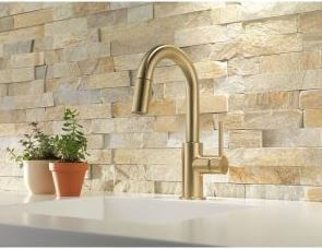 Champagne gold faucet