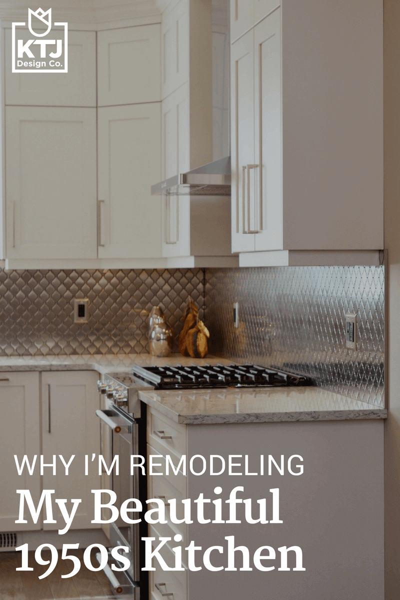 Image of: Why I M Remodeling My Beautiful 1950s Kitchen Ktj Design Co