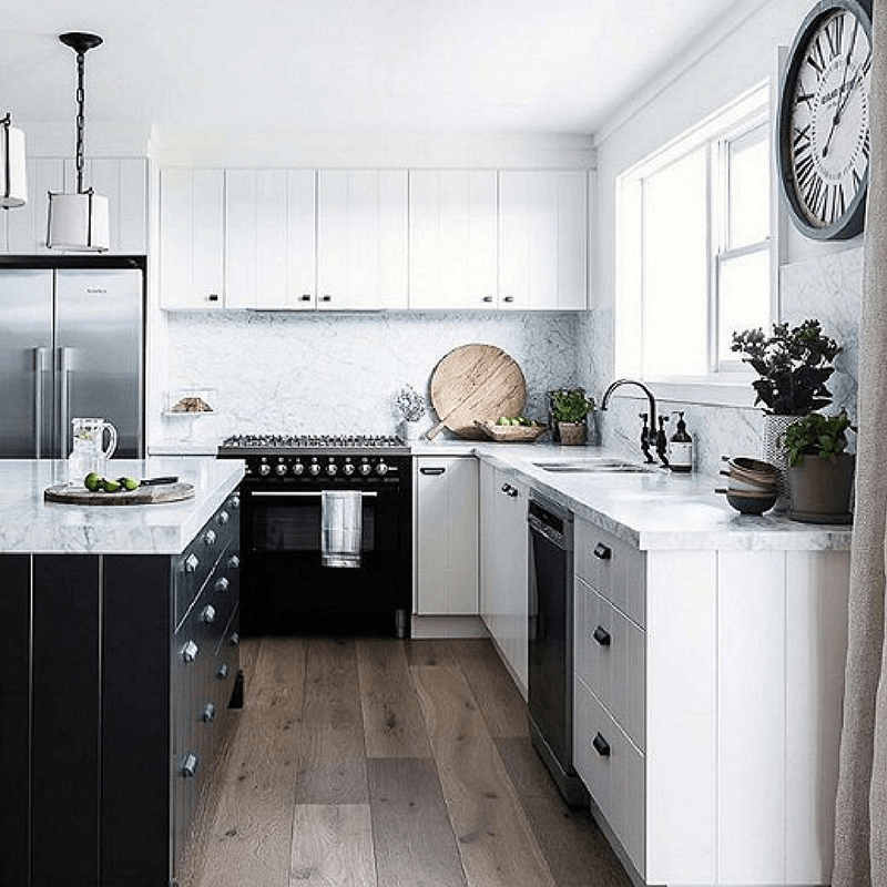 01_Tuxedo_kitchen The Top 25 Most Beautiful Home Design Trends for 2018