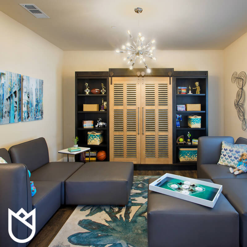 Valley-Springs-Gold-Creek-Contemporary-childrens-game-room-16