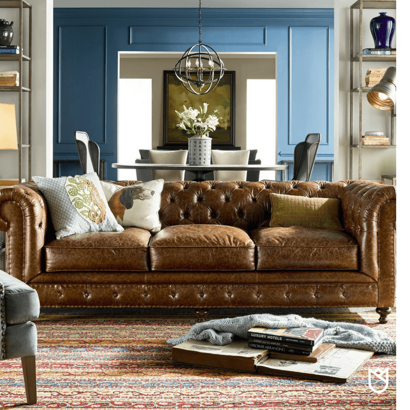 CHESTERFIELD SOFA STYLE - UNIVERSAL FURNITURE
