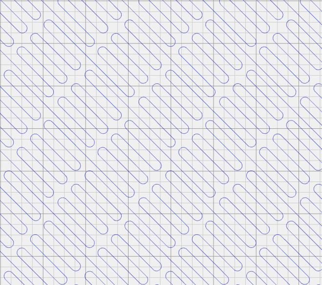 Square Fold Diagonal LOW