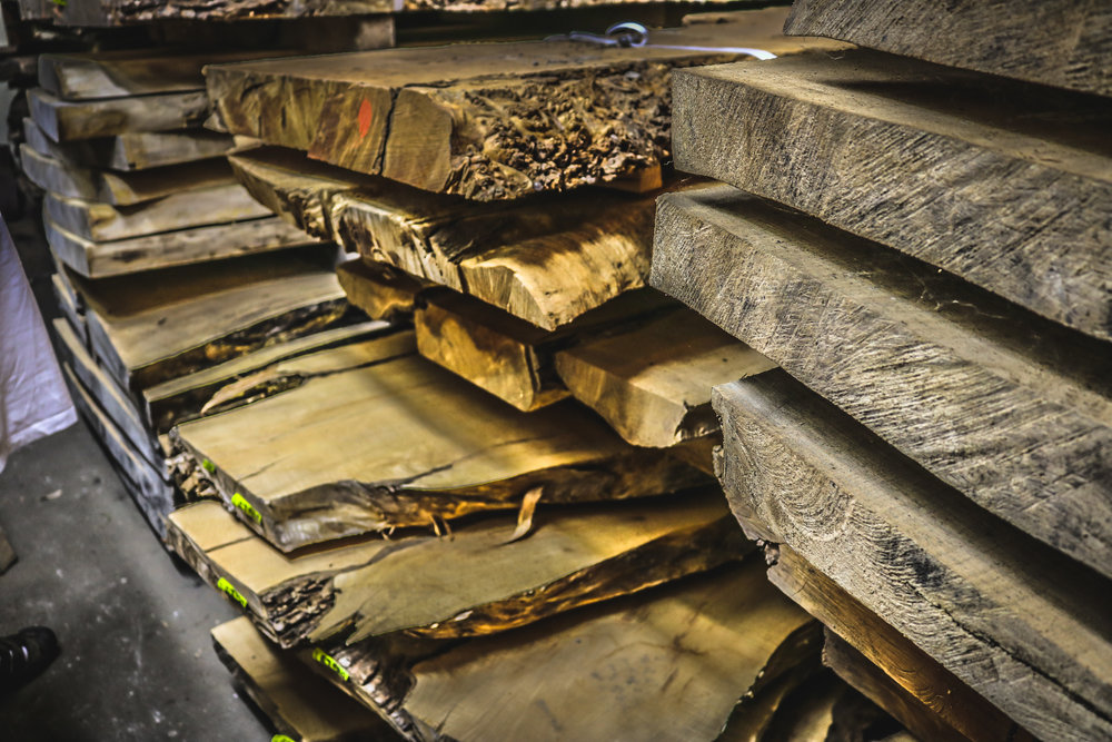 Kiln Dried Slabs - We have thousands of slabs in our inventory.Click to see the full list