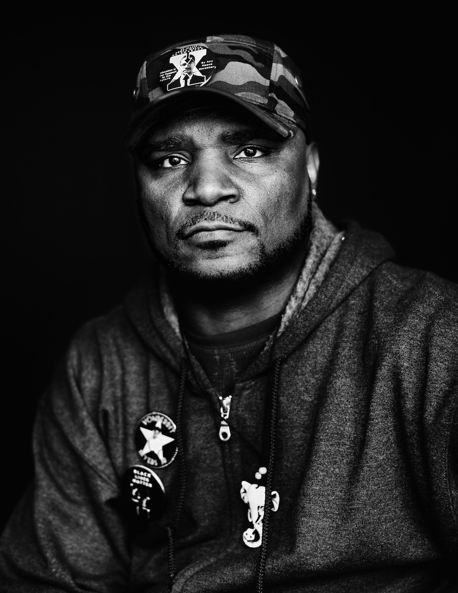 """""""No Justice. No Peace. Open your minds and hearts. Open your eyes. Acknowledge your surroundings and stand together. Be as one. Love yourself and the people AND please remember 1,000,000 hearts, but one LOVE! Stand for something or DIE for nothing!""""  This is Vonderrit Myers Sr. His only son, Vonderrit Myers Jr., was murdered by police 6 months ago today. And he is the movement."""