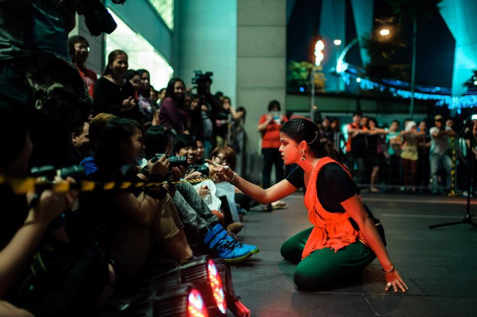 My Name is Cine-Maa Performance at the Kakiseni Festival, Kuala Lumpur, Malaysia.