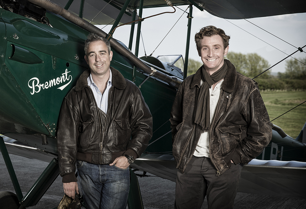 Nick and Giles English, Bremont Co-Founders