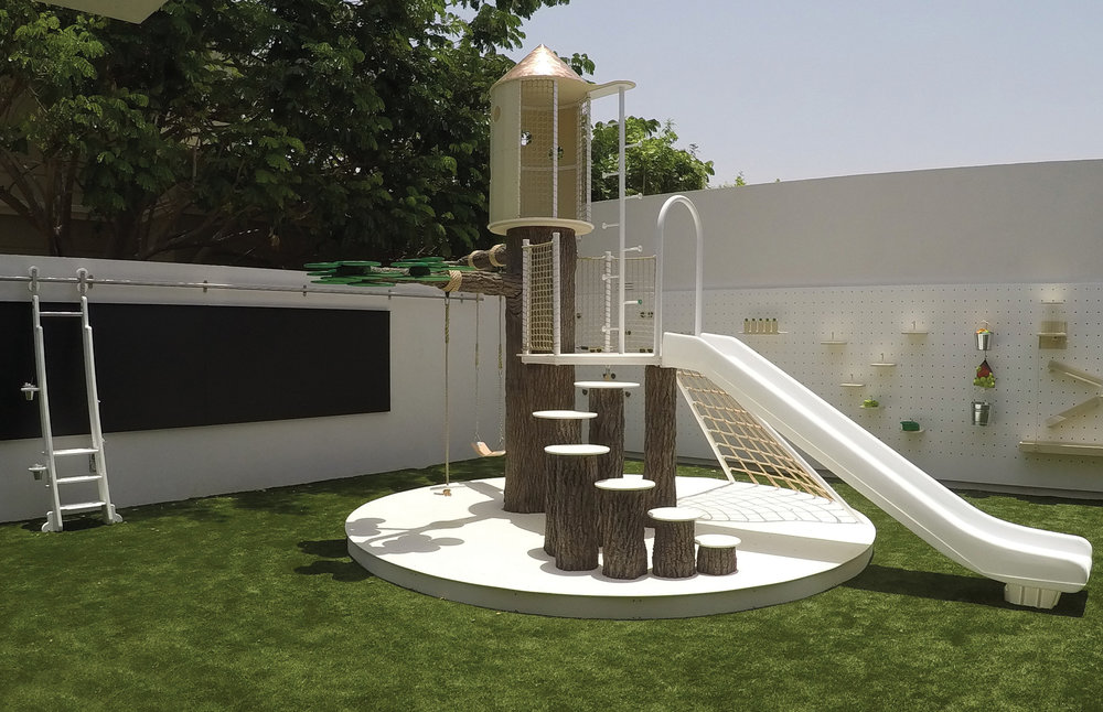 a fantastic playground oasis for a project in dubai