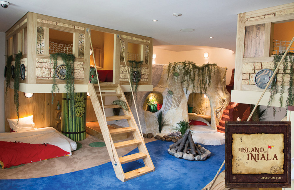 we designed, fabricated and fitted a hotel designed for kids in thailand