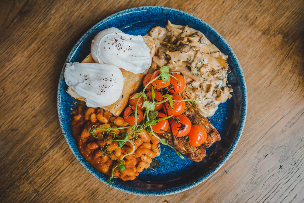 PLAU FULL ENGLISH - Traditional, Vegetarian or Vegan