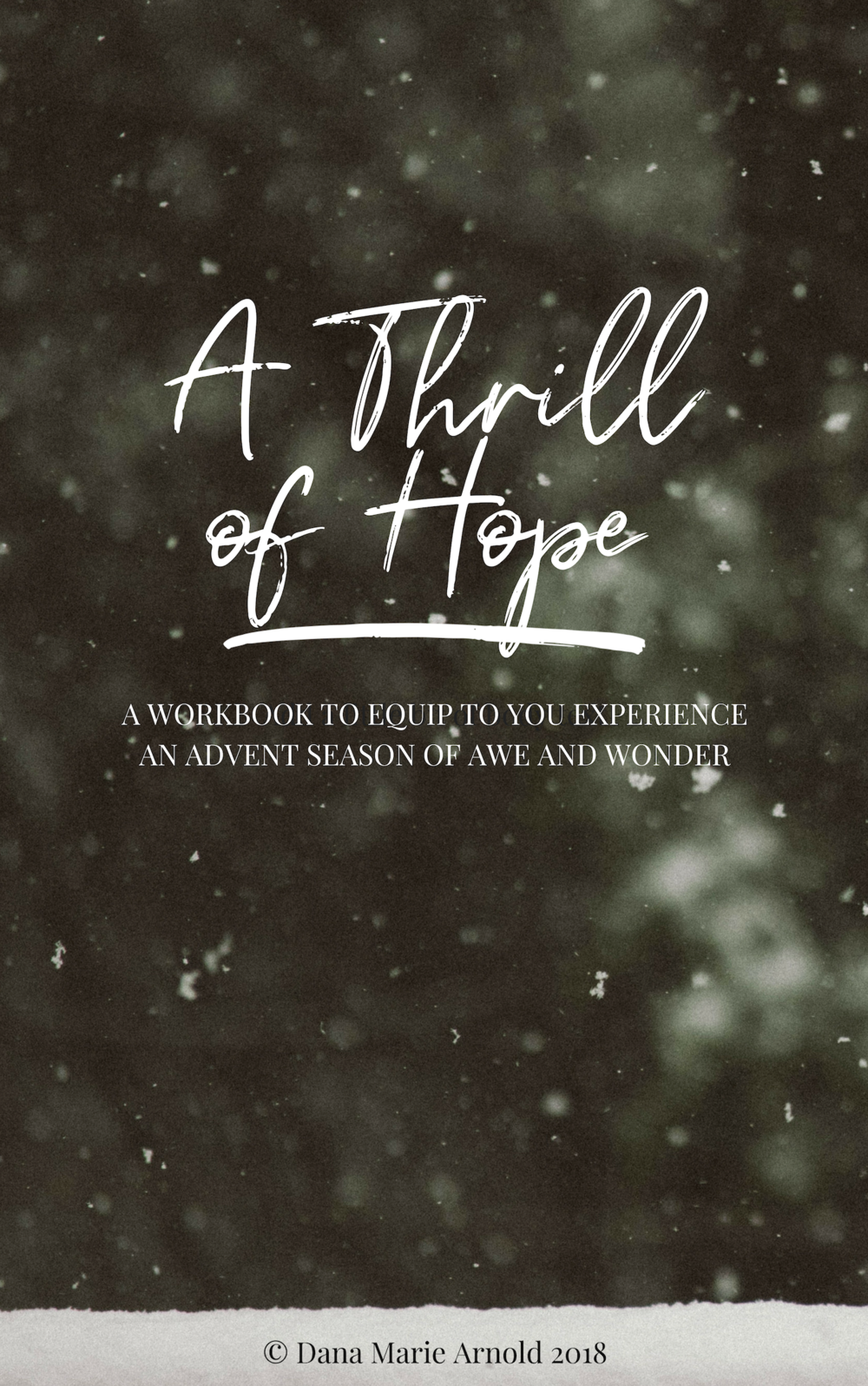 A Thrill of Hope Advent Guide & Workbook