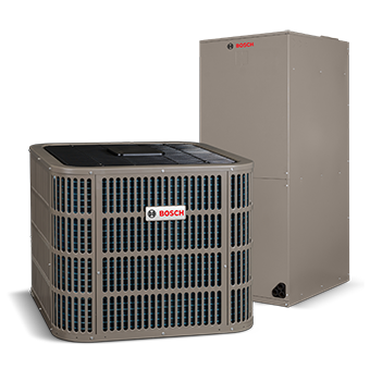 Residential Heating and Cooling - Lowering your monthly utility bills has never been easier with Bosch's ENERGY STAR rated heat pump systems!