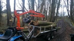 Timber forwarding