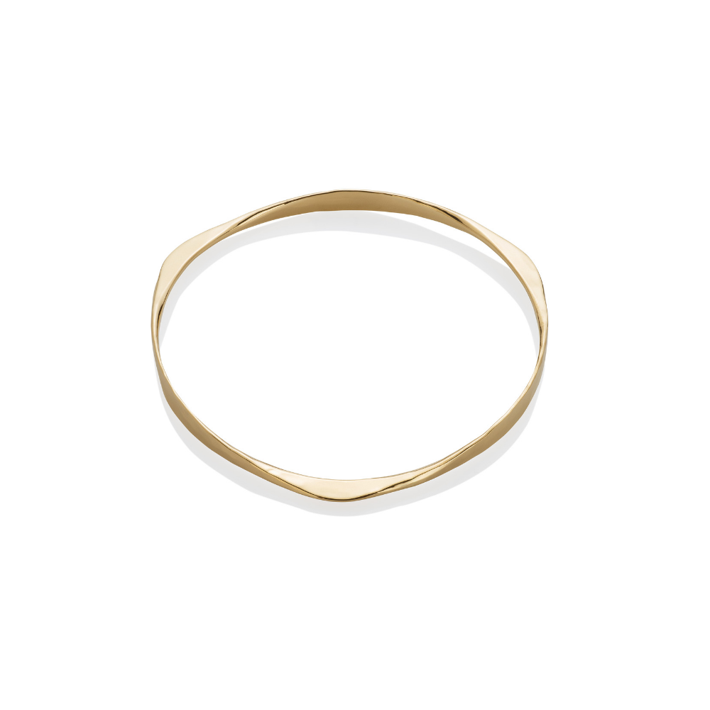 Medium Gold Bangle